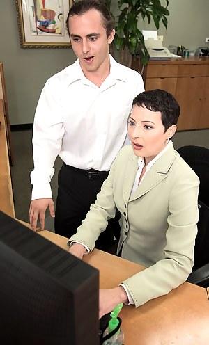 MILF Boss Porn Pics