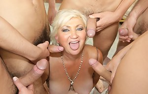 MILF Group Sex Porn Pics