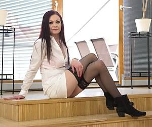 MILF Boots Porn Pics