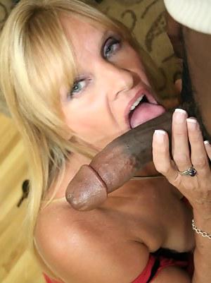 MILF Big Black Cock Porn Pics