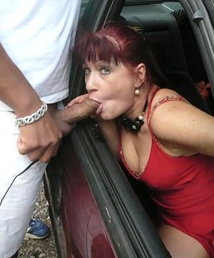 MILF Car Porn Pics