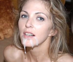 MILF Facial Porn Pics